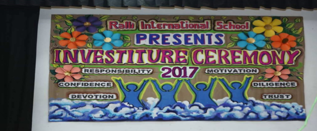 ralli Investiture Ceremony